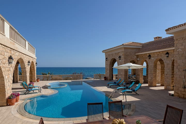 Exclusive 7 Bedroom Gated Beach Front Estate