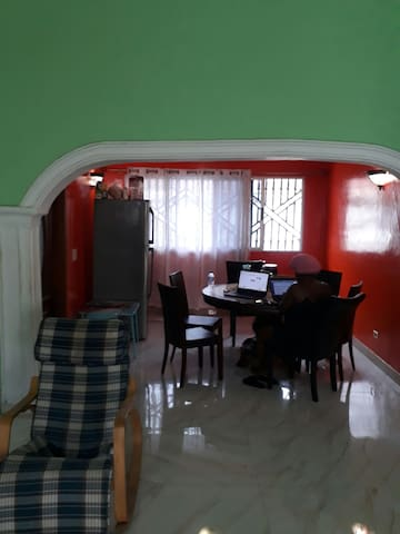 Comfortable house located in Congo town.