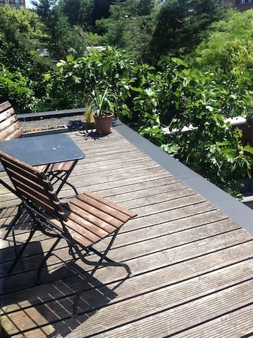 terrasse privative
