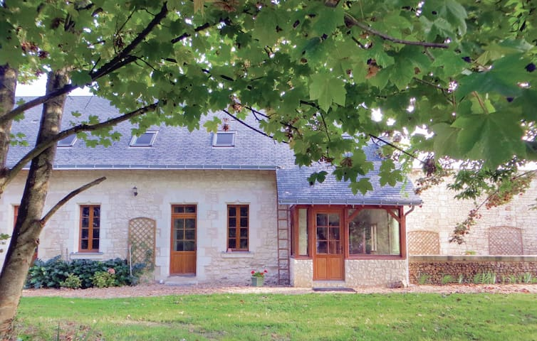 Holiday cottage with 4 bedrooms on 140 m² in Neuillé
