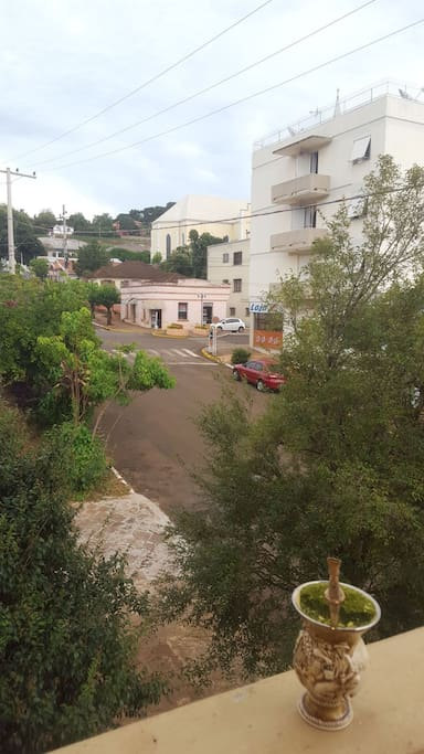 Vista para a avenida principal