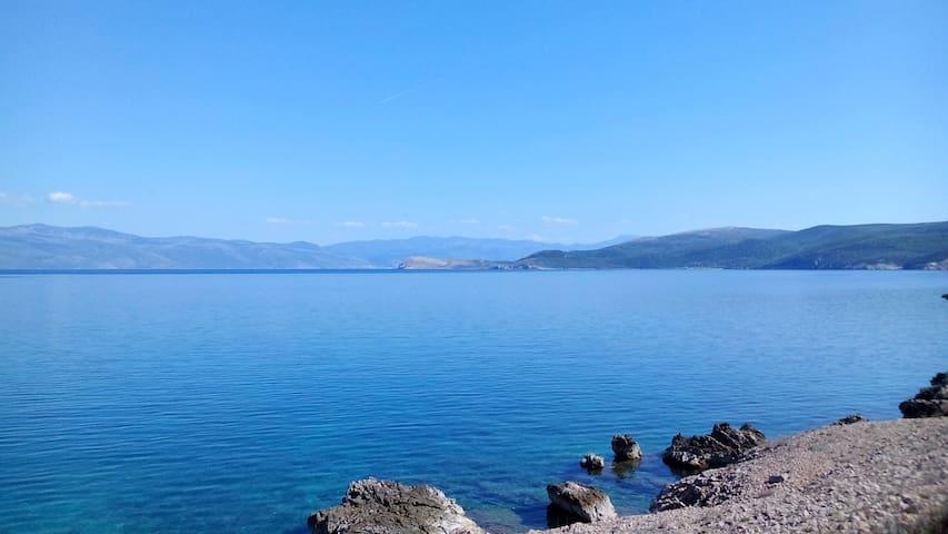 Sveti Marak beach, Risika