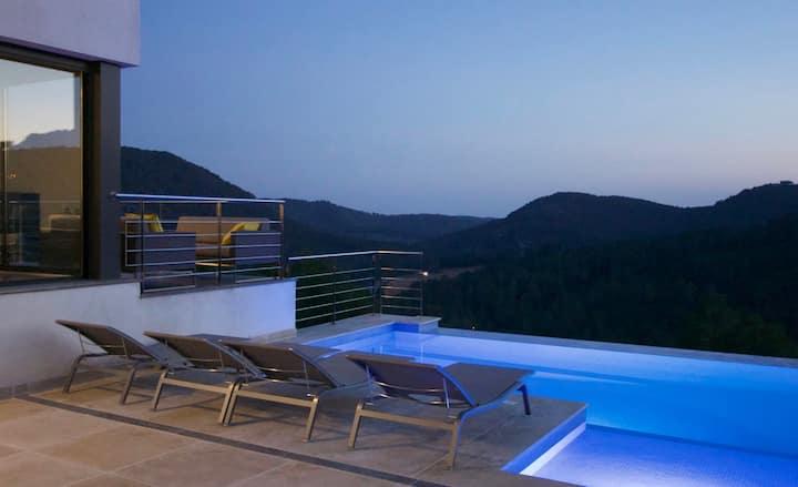 Luxury, designer villa near Sitges