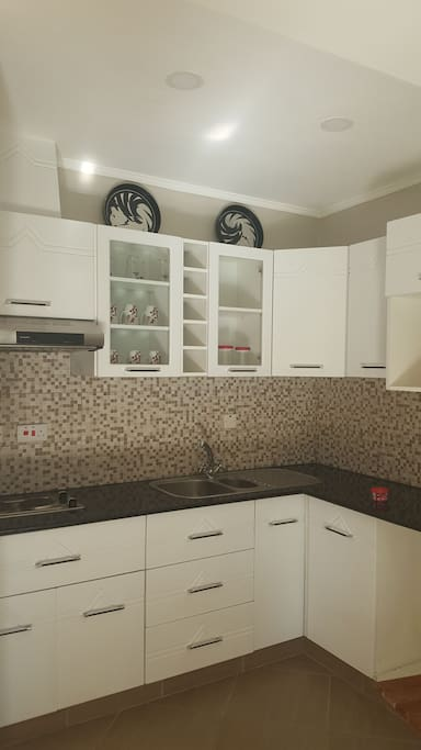 Fitted kitchenette with all your essentials