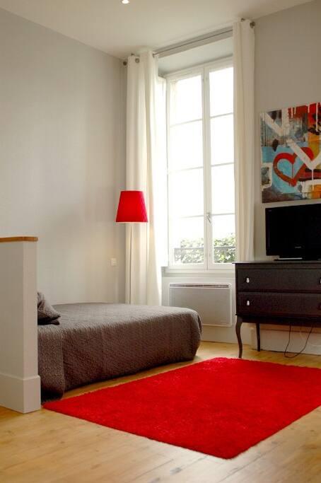 Espace Lit & TV