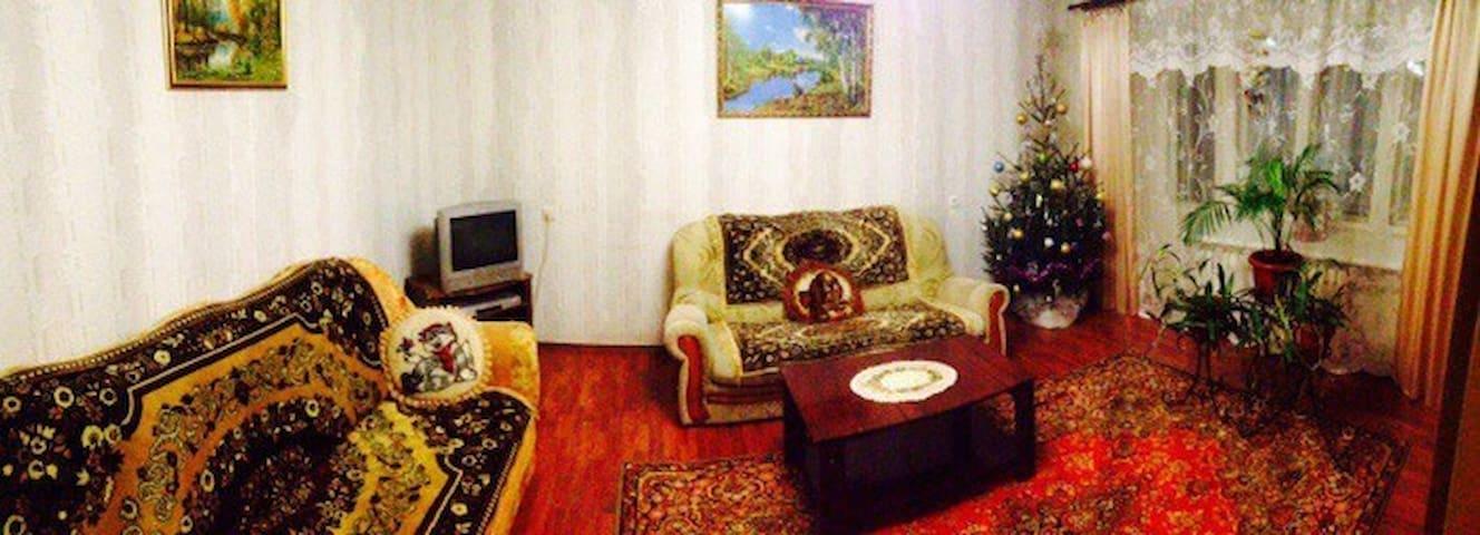 Просторная трёх комнатная квартира