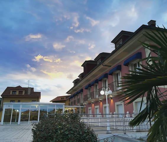 Hotel Villa de Gijon (habitacion doble-dos camas)
