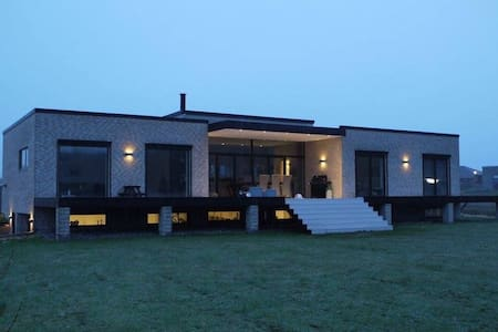 Nybygget funkisvilla på 2x202 m2 - Sydals