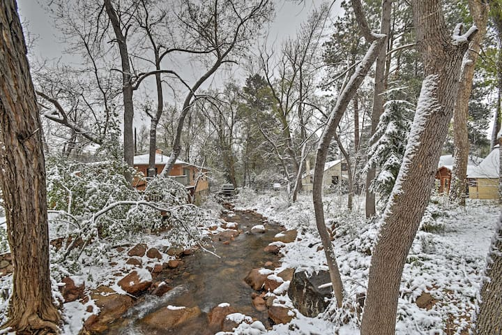 Cozy Colorado Springs Home on Mountain Stream!