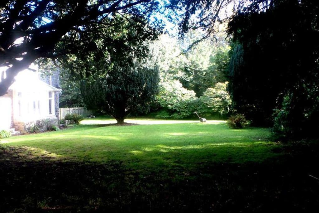 Croquet lawn and Gardens