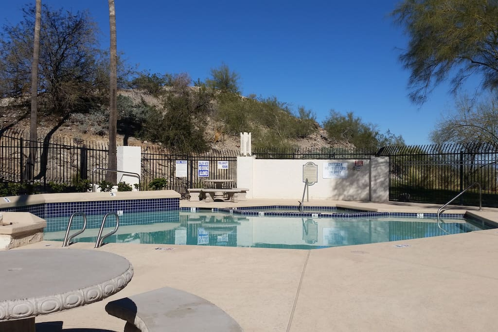 Photo of 1 of 3 pools accessible within the golf course country club