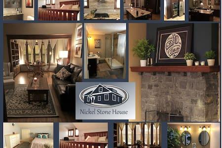 Nickel Stone House in the Heart of Sudbury
