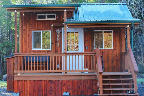 Sol Duc Den-East, A tiny cabin with big adventures