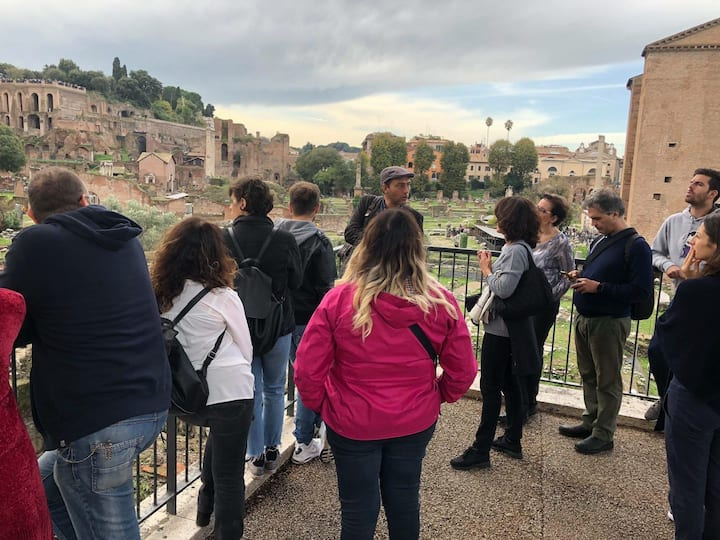 Talking about the Roman Forum