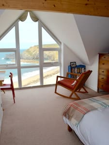 Beachside sea view lux ensuite, Portreath Cornwall - Portreath