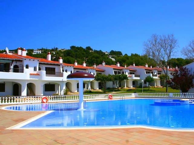 Holiday resort with pool near the beach - Son Bou Gardens