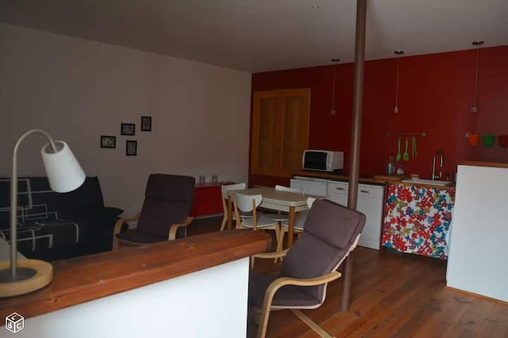Appartement proche mer jusqu'à 4 personnes