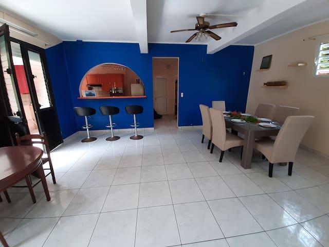 La villa des vacances