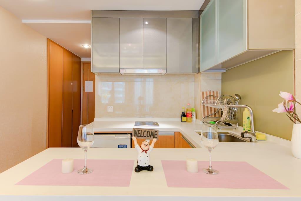 厨房【可做饭】