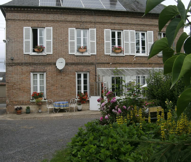 Chambre d h te dans maison de bourg avec jardin chambres - Maison a louer 3 chambres avec jardin ...