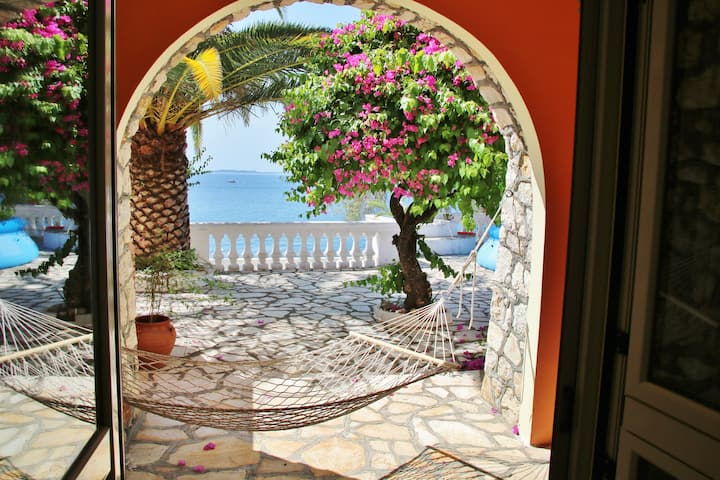 Gerekos Villa & its private beach