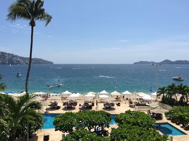 Acapulco frente al mar, increíble!
