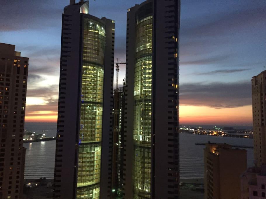 Sunset@balcony..