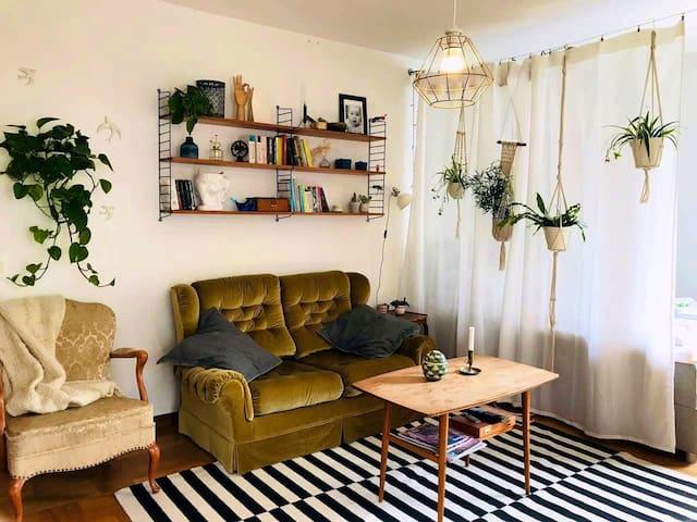 Rum i lägenhet i centrala Göteborg