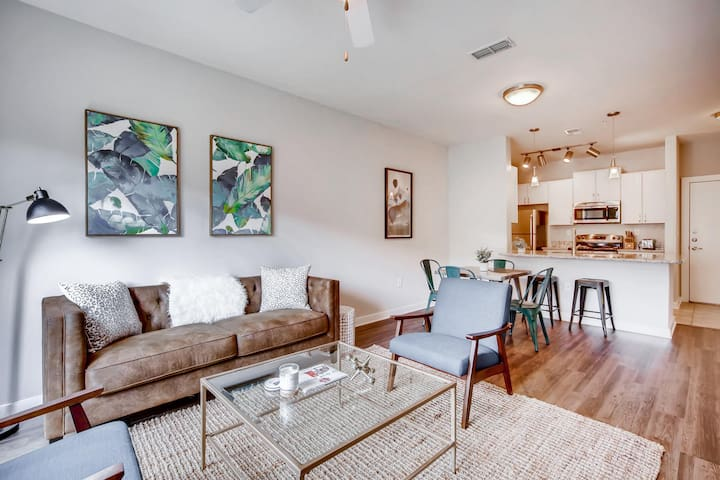 Inman Park Luxury Apartment 2 w/ pool and gym
