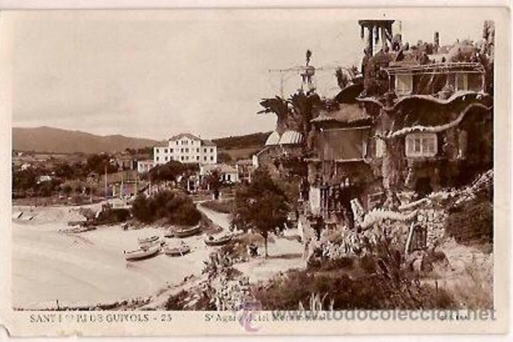 Para los nuevos en S'Agaró, estas fueron las obras del Hostal La Gavina, la primera construcción de S'Agaró