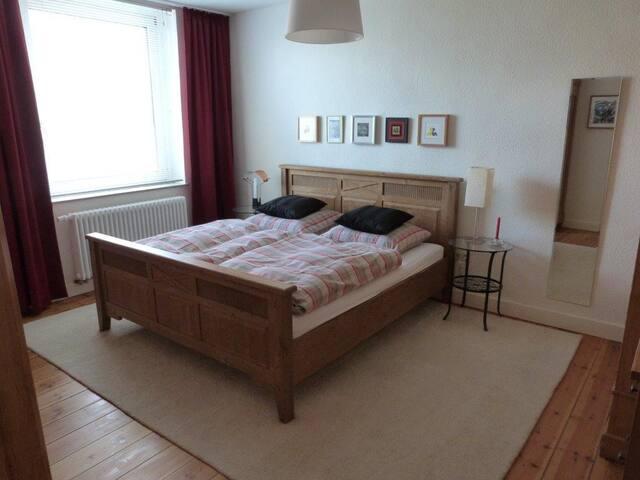 möblierte 98 qm 3-Zimmer Wohnung nähe Medienhafen - Düsseldorf - Wohnung