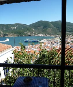 Villa Anna with a panoramic view - Skopelos - Rumah
