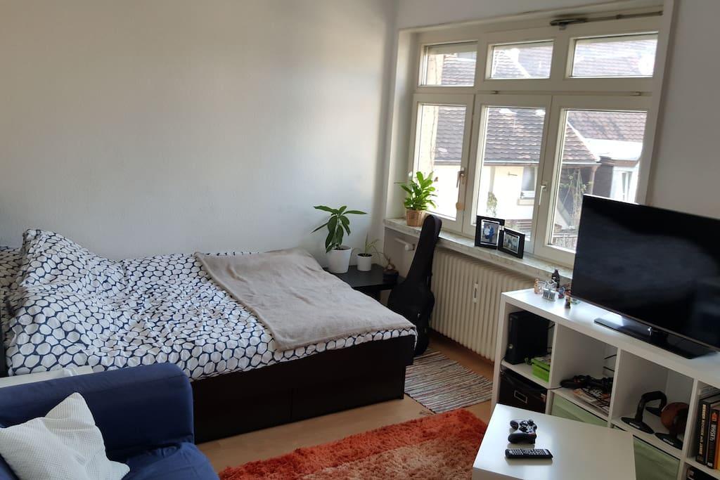 Großes Bett 1,4x 2m