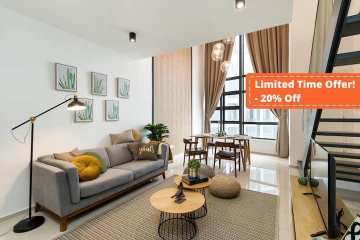 【20% off 】Hotel liked premium suites - Eko Cheras