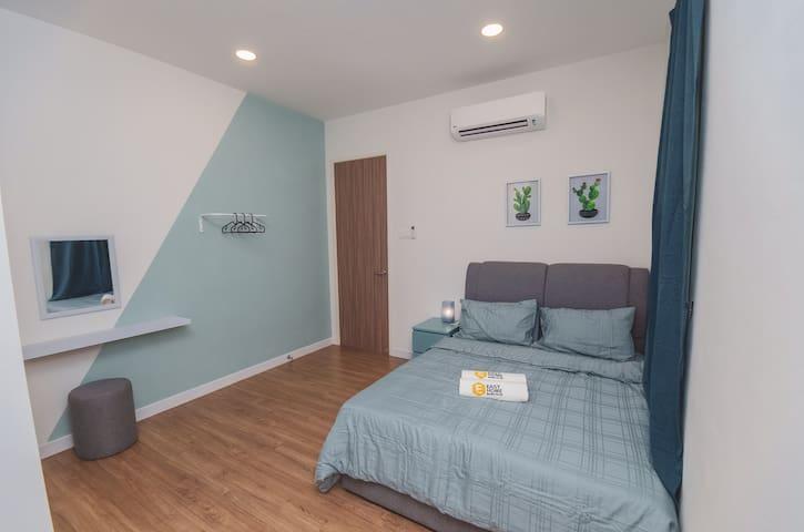 2nd Floor Bedroom 4 attached with bathroom water heater !!!
