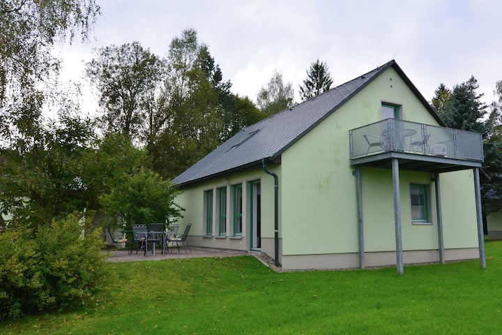 Detached holiday home in Saxony with gorgeous view