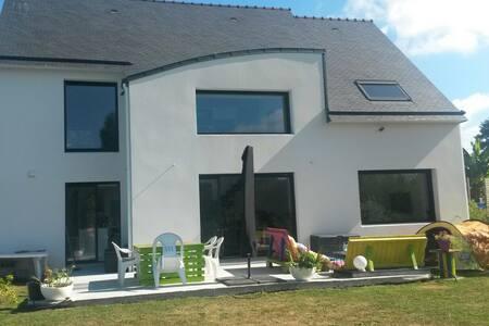 Maison d'architecte en campagne - Kervignac