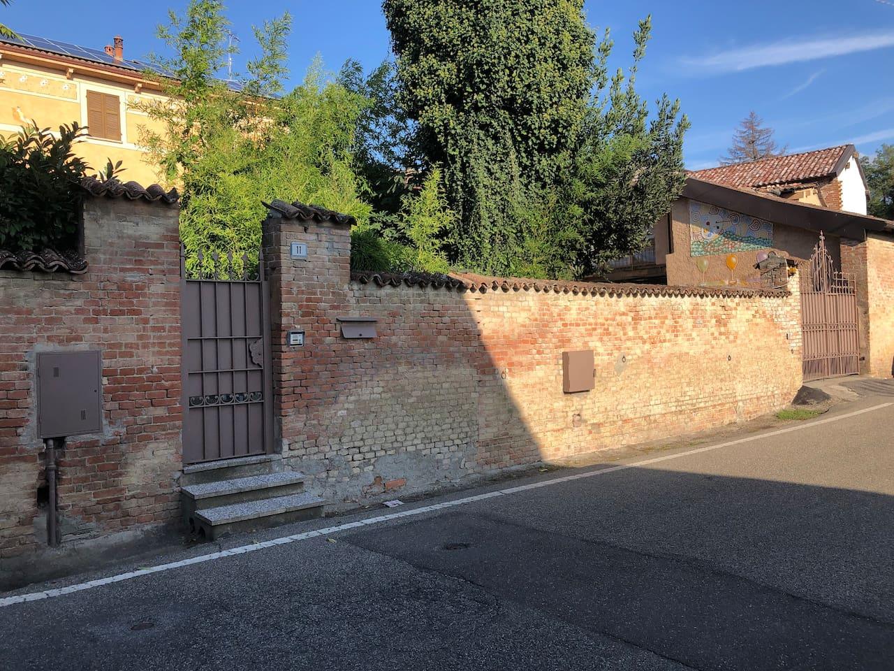 Esterno - Cancello