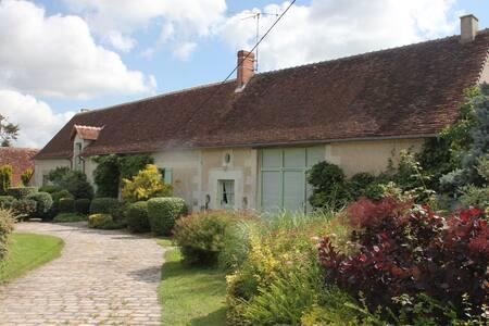 Belle longère avec piscine chauffée - Saint-Flovier - Dom