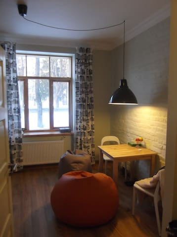Cozy flat in a charming house  - Riga - Daire
