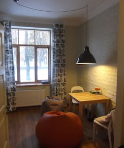 Cozy flat in a charming house  - Riga - Wohnung