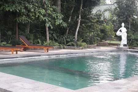 A Nature One Bed Room Villa Wana Ukir Ubud - Sukawati