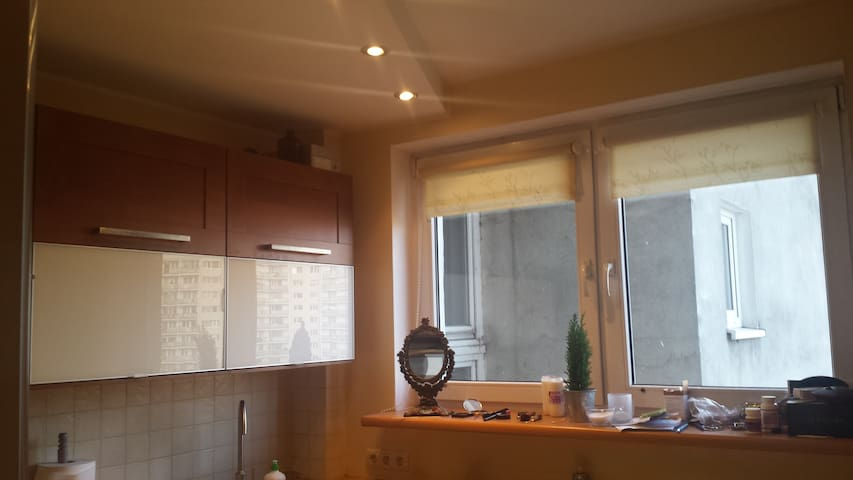 Comfortable apartment with 2 rooms - Poznań - Huoneisto