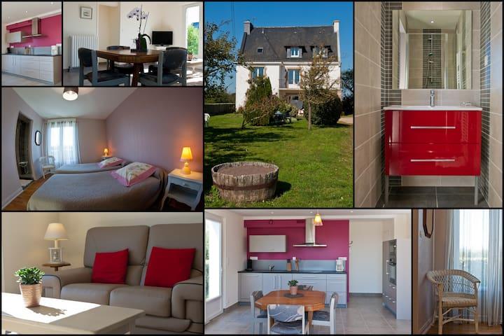 Appartement neuf à 200m de la mer - Plouharnel - Apartamento