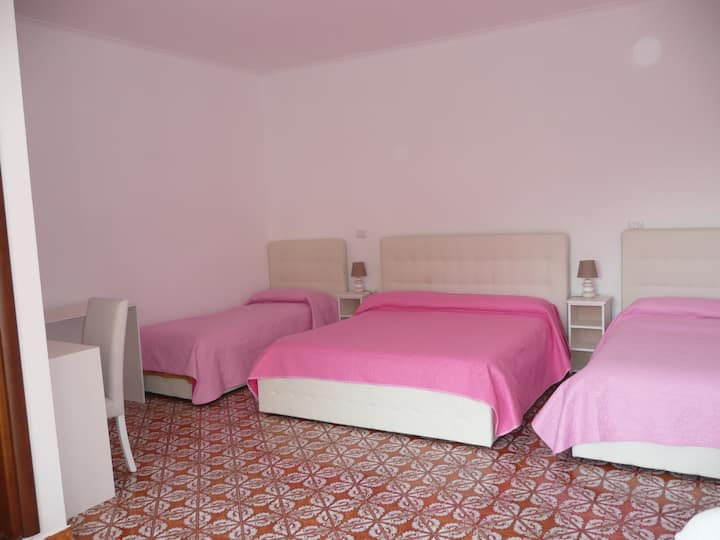 """La Rosa"" room in Garden House"