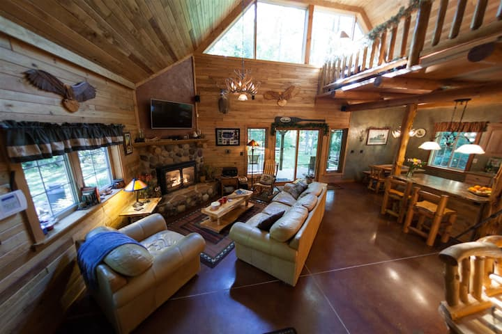 Loon Lodge Cabin *Nature`s Best Hideaway*