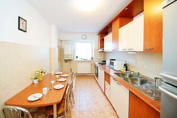 Aurel Vlaicu apartment – bedroom 3&4