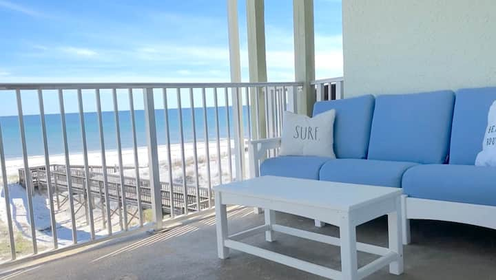 Book Now! 2020 Savings! Gulf Front Condo on the Beach! Pool! - Coastal Condo at Commodore's Retreat