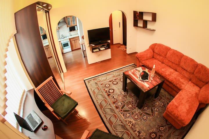 Апартаменты-студио в историческом центре. - Mahilioŭ - Apartemen