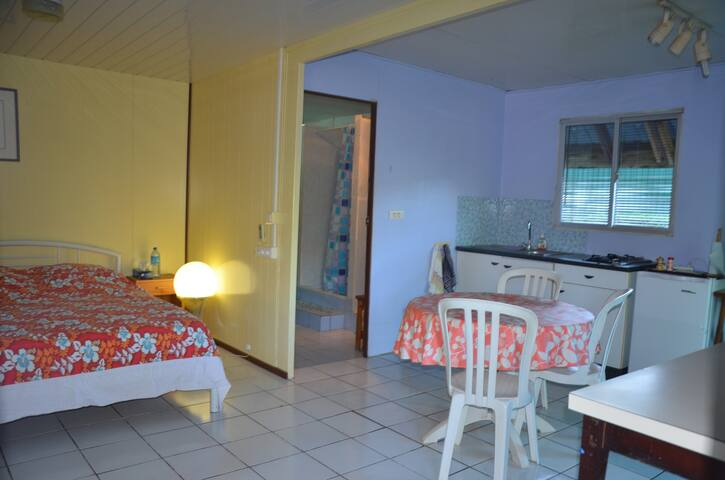 Small studionin Papeete-Tahiti